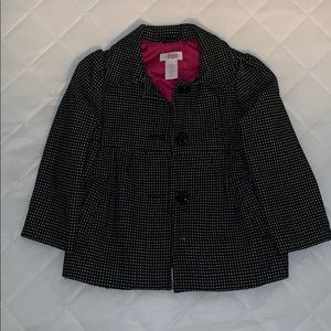 Pea coat for toddler